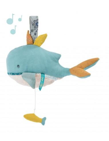 Baleine musicale Le Voyage d'Olga -...