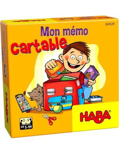 Mon mémo cartable - Mini jeu Haba