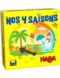 Nos 4 saisons - Mini jeu Haba