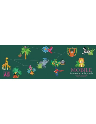 Mobile le monde de la jungle - Djeco