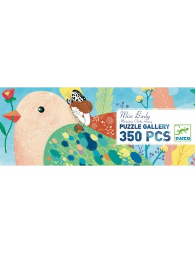 Puzzle gallery Miss Birdy 350 pièces...