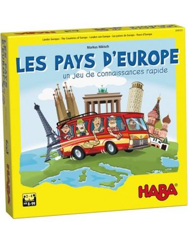 Les pays d'Europe - jeu Haba