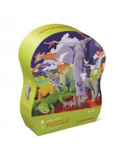 Puzzle wild safari 72 pièces