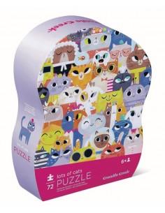 Puzzle chat 72 pièces