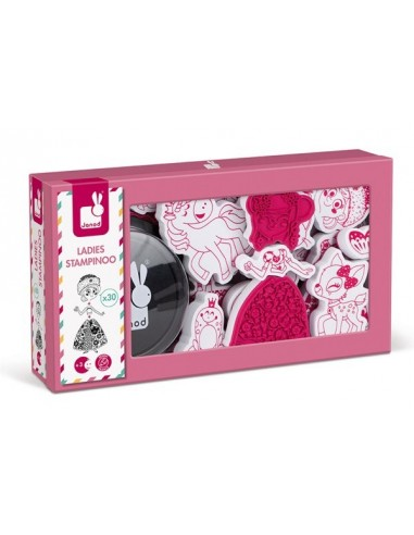 Coffret 30 tampons Ladies Stampinoo -...