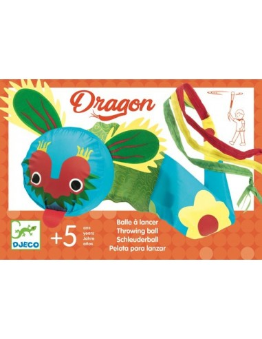 Balle à lancer dragon - Djeco