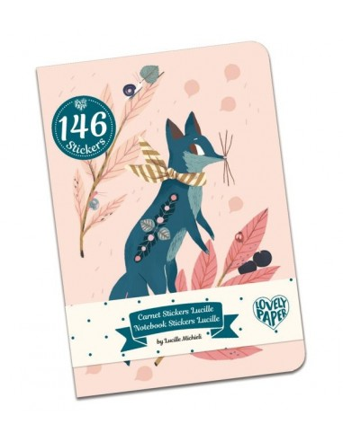 Carnet stickers Lucille - Lovely...
