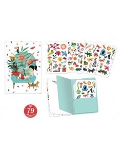 Carnet stickers Sarah -...