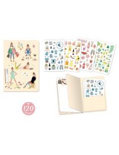 Carnet stickers Tinou -...
