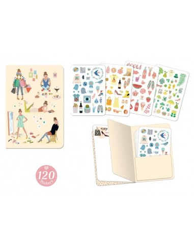 Carnet stickers Tinou - Lovely paper...