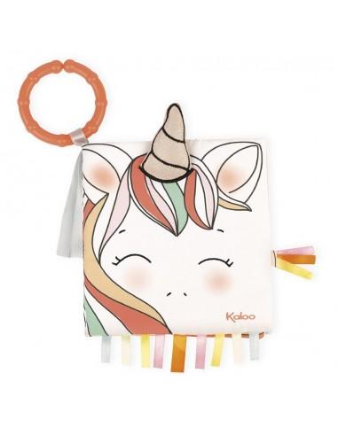 Livre d'éveil la licorne joyeuse -...