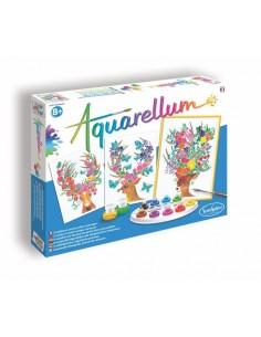 Aquarellum cerfs enchantés...