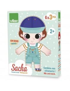 Puzzles Sacha à habiller -...