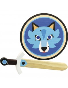 Bouclier et épée loup - Vilac