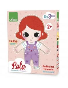 Puzzles Lola à habiller -...