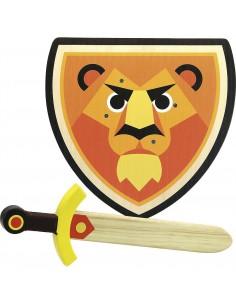 Bouclier et épée lion - Vilac