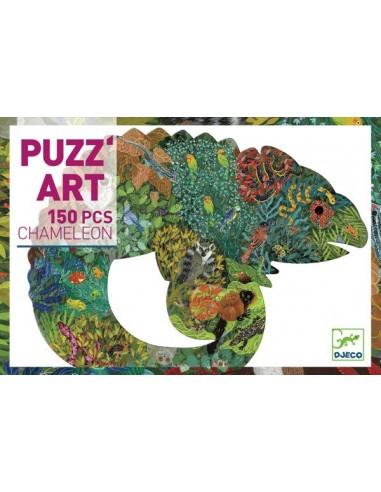 Chameleon Puzz'art 150 pièces - Djeco