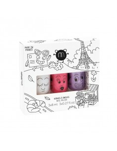 Coffret 3 vernis CITY