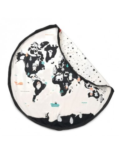 Sac à jouets worldmap - PlayandGo