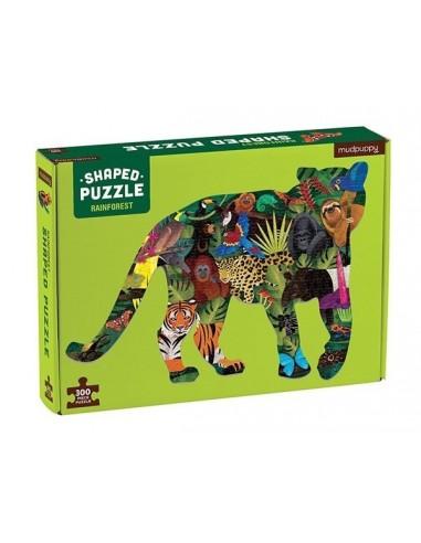 Puzzle forme forêt tropicale 300 pièces