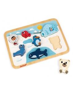 Chunky puzzle arctique - Janod