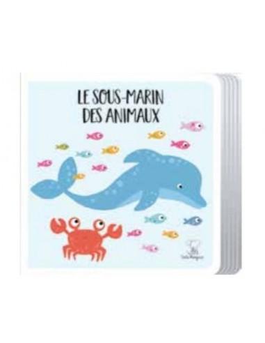 Livre Et Puzzle Geant Le Sous Marin Des Animaux Sassi
