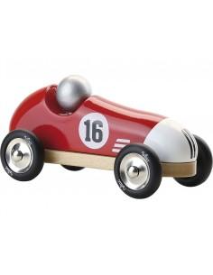 Voiture vintage sport rouge...