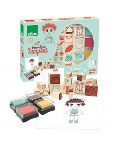 Coffret tampons personnages...