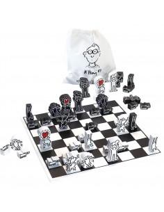 Jeu d'échecs Keith Haring -...