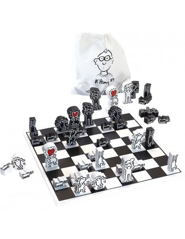 Jeu d'échecs Keith Haring - Vilac