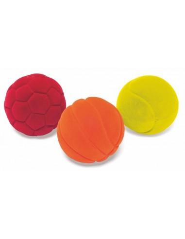 Set de 3 mini balles sports - Rubbabu