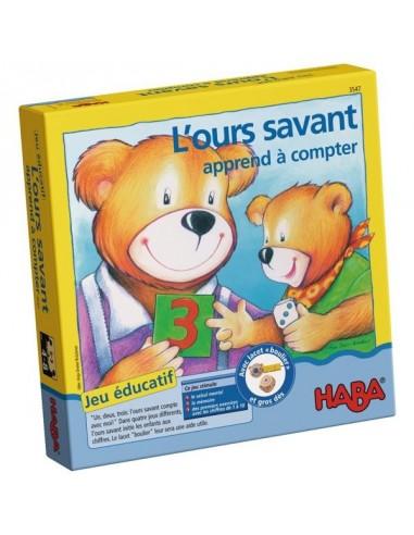 L'ours savant apprend à compter - jeu...