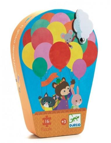 La montgolfière puzzle 16 pièces - Djeco