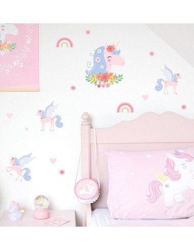 Stickers muraux licorne - A Little...