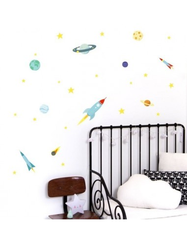 Stickers muraux espace - A Little...