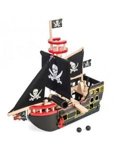Bateau de pirate Barbarossa...