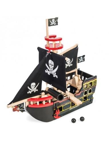 Bateau de pirate Barbarossa - le Toy Van