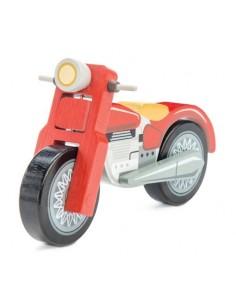 Moto en bois - le Toy Van