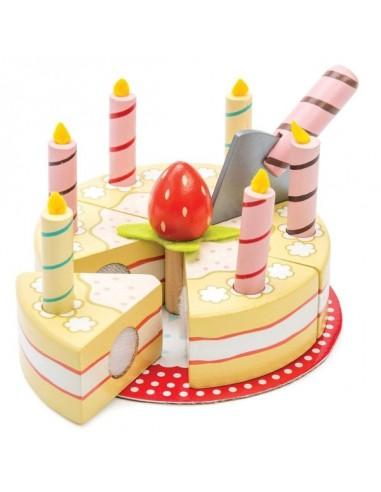 Gateau d'anniversaire à la vanille -...