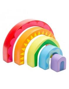 Tunnel arc en ciel - le Toy...