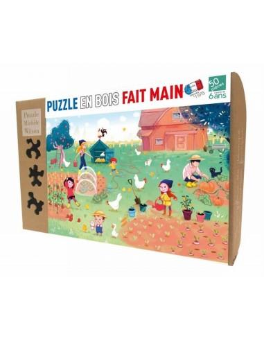 Puzzle 50 pièces famille Potiron - PMW