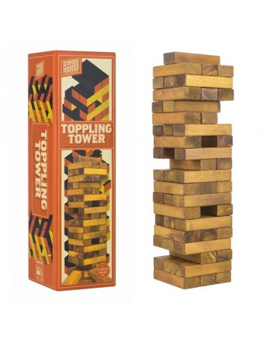 Tour toppling tower - Professor PUZZLE
