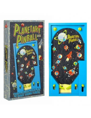 Flipper Planetary Pinball Professor Puzzle