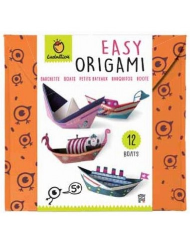 Easy origami bateaux - Ludattica