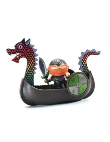 Drack et son drakkar pirate Arty Toys...