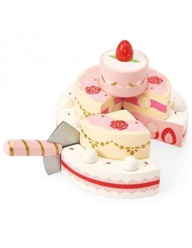 Gateau de mariage aux fraises - le...