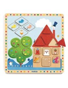 Puzzle Ludigeo - Djeco