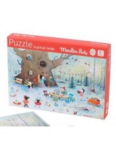 Puzzle paysage d'hiver 45...