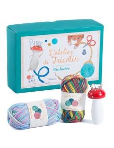 L'atelier de tricotin -...