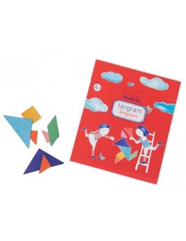 Jeu magnétique tangram - Moulin Roty